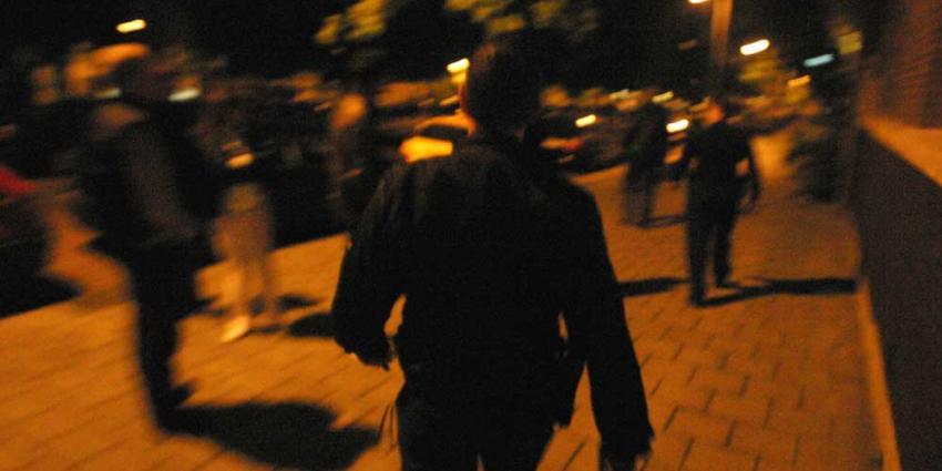 Foto van politie in donker op straat | Archief EHF