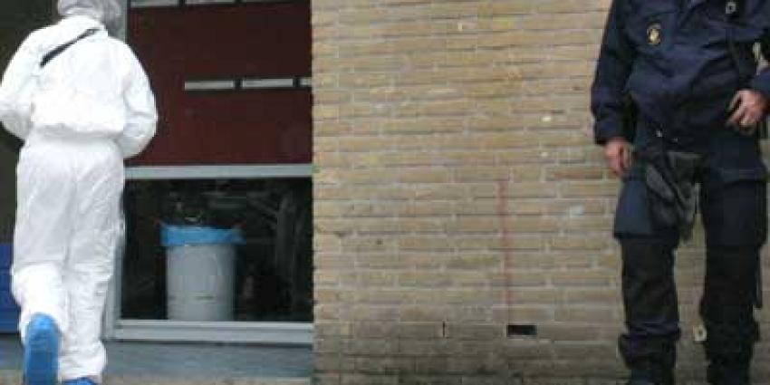 Foto van forensisch onderzoek in flat | Archief EHF