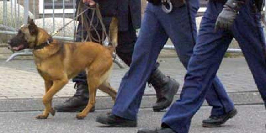 Foto van politiehond   Archief EHF