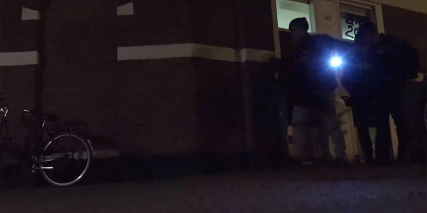 politie-huiszoeking