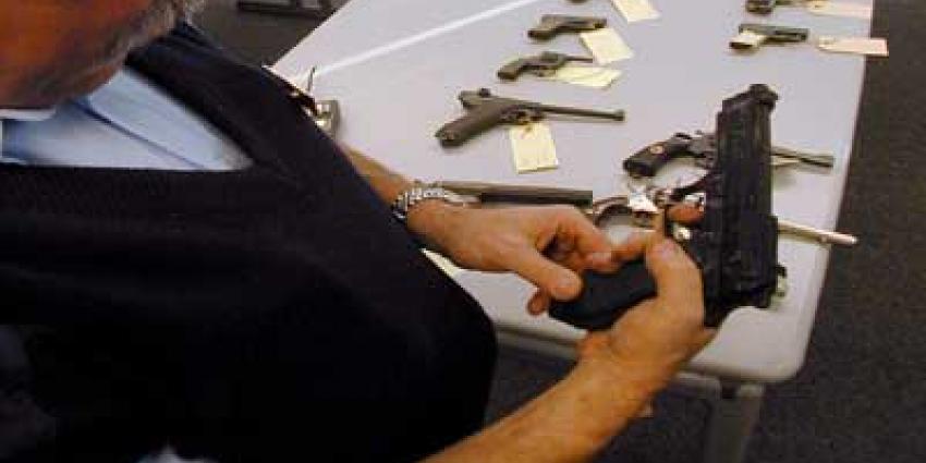 Vuurwapen en munitie gestolen bij inbraak schietvereniging