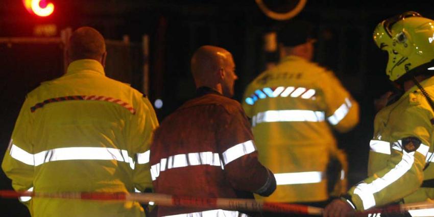 Foto van agenten politie in donker | Archief EHF