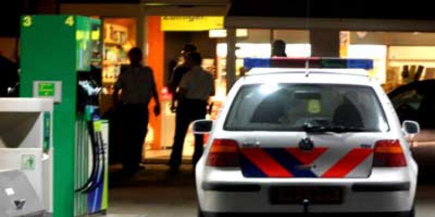 Foto van politie bij tankstation | Archief EHF