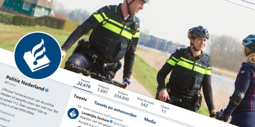 De politie kan leren van klachten, ook van die op sociale media
