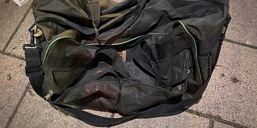 Foto van tas waar kat in zat