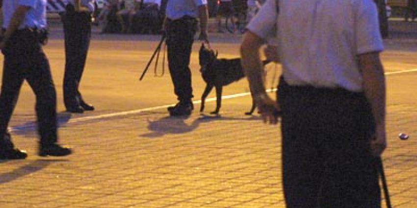 Foto van agenten met wapenstok | Archief EHF