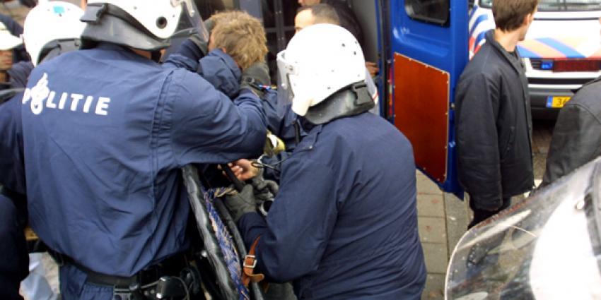 Politie houdt 6 verdachten aan bij anti-ISIS demo Den Haag