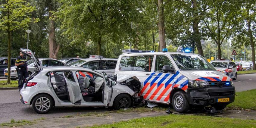 Politie schiet tijdens achtervolging vluchtende automobilist