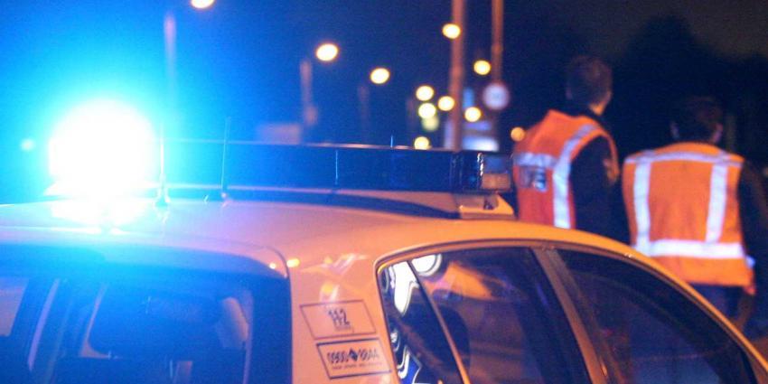 Politieauto's beschadigd tijdens wilde achtervolging Vlissingen
