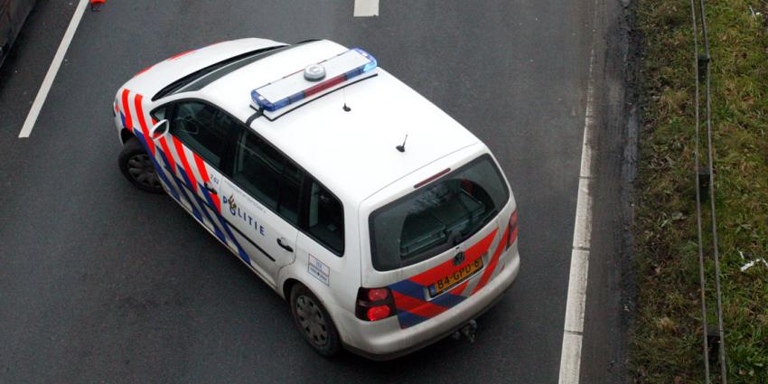 Automobilist rijbewijs kwijt na ongeval