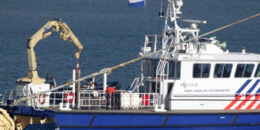 Actief zoeken naar vermiste visser gestaakt