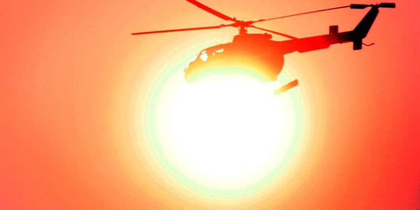 Politie-heli's vliegen vaak uit om niets