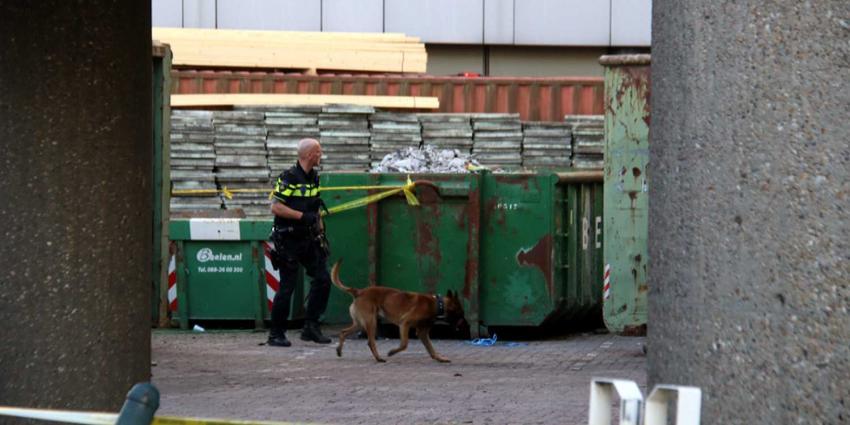 Politiehond zoekt koperdief