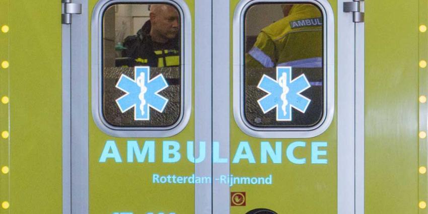Politiehelikopter assisteert bij spoedassistentie collega's Vlaardingen
