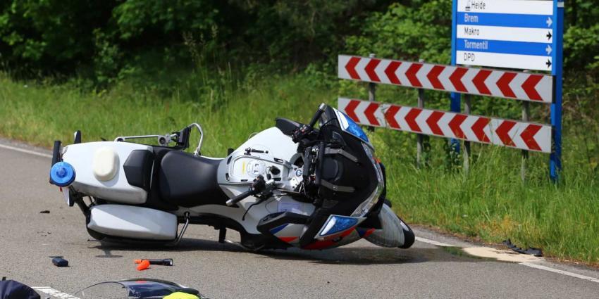 Politiemotor betrokken bij ongeval in Best