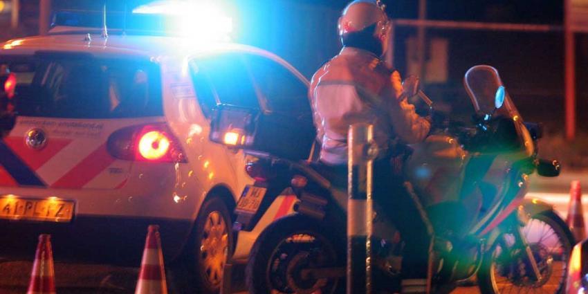 Dronken automobilist veroorzaakt ravage in Tilburg