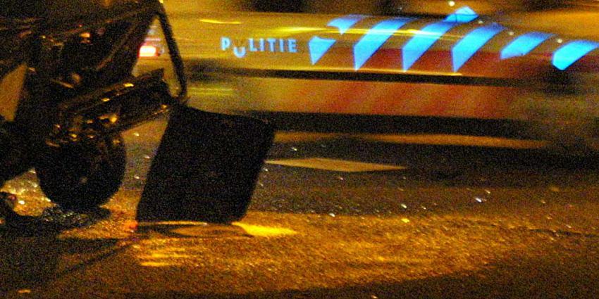 politie-snelweg-ongeval-donker