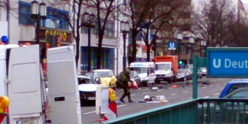 Auto met explosief ontploft in Berlijn
