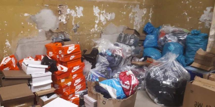 Vier verdachten aangehouden op verdenking van handel in namaakgoederen