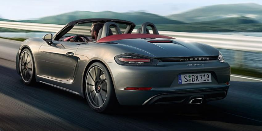 Dit is de nieuwe Porsche 718 Boxster