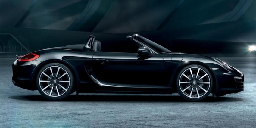 De nieuwe Boxster & 911 Black Edition modellen van Porsche