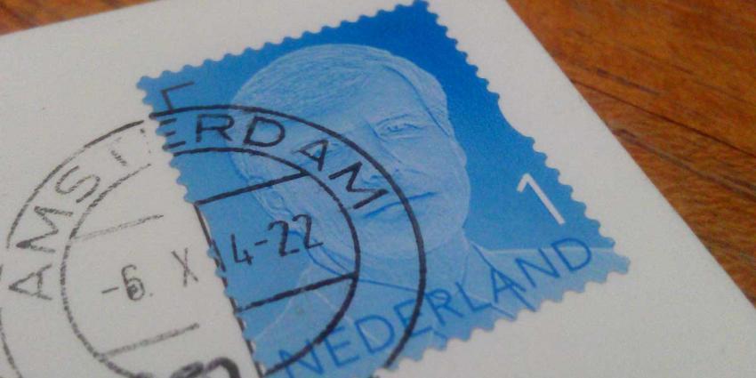 Foto van postzegel