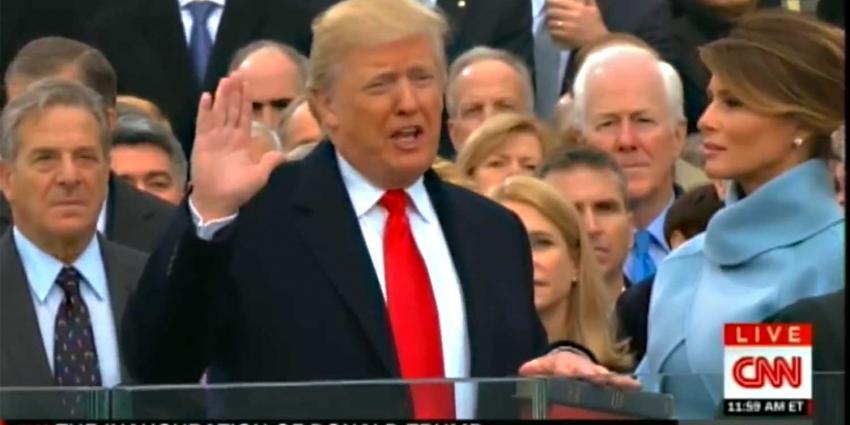 Heftige reacties op inauguratie en speech  Donald Trump