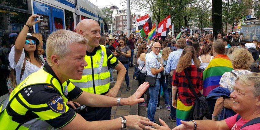 Dertien aanhoudingen tijdens Canal Parade