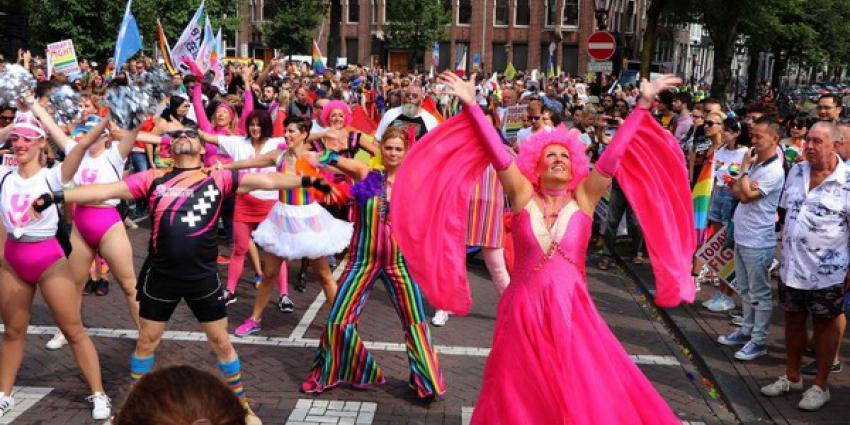 Foto van gay pride