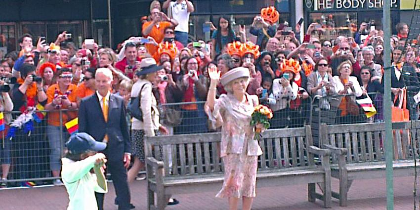 Foto van prinses Beatrix in Amstelveen   FBF