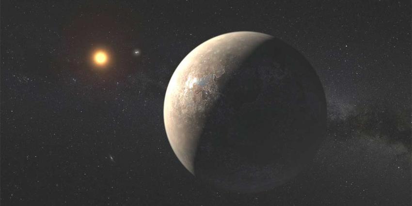Mogelijk leefbare planeet ontdekt op 'maar' 4 lichtjaren van aarde