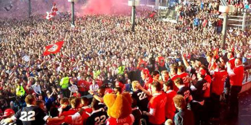 Indrukwekkend kampioensfeest van PSV in Eindhoven