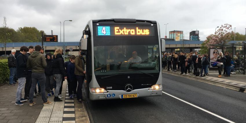 Extra bussen van P+R naar Bloemenjaarmarkt