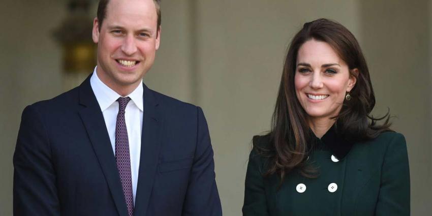Prins William en zijn vrouw Kate zijn zwanger van hun derde kind