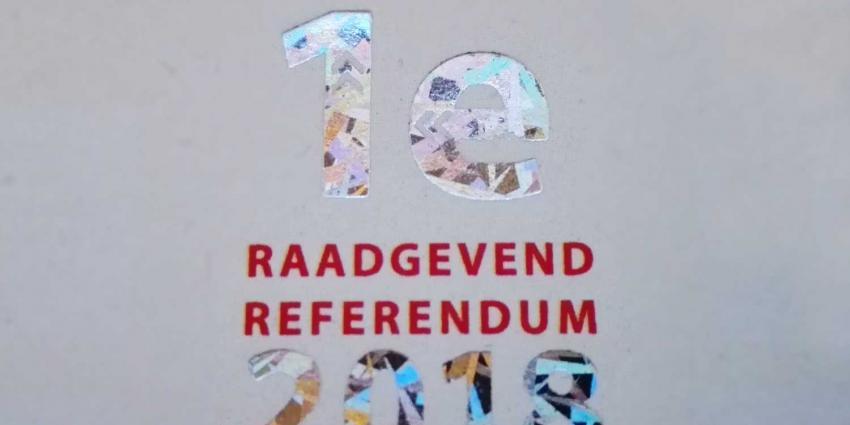 Raadgevend referendum afgeschat