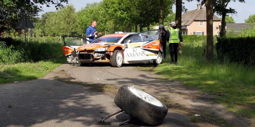 Bob de Jong  winnaar ELE Rally 2013