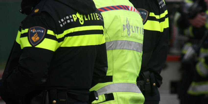 Agressieve man uit water gevist in Groningen