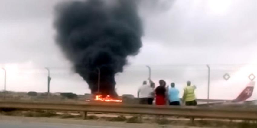 Vijf doden bij vliegtuigchrash op Malta
