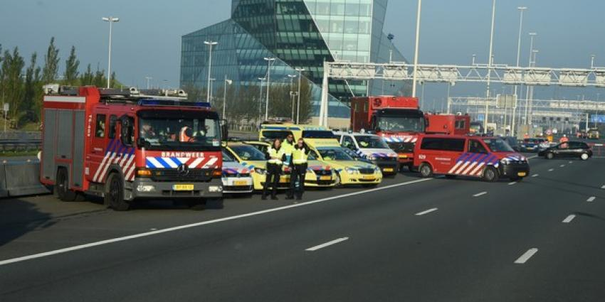 Rampenoefening in Leidsche Rijntunnel