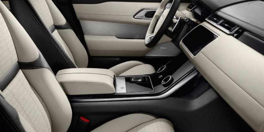 Nieuwe Range Rover Velar onthuld in Design Museum Londen