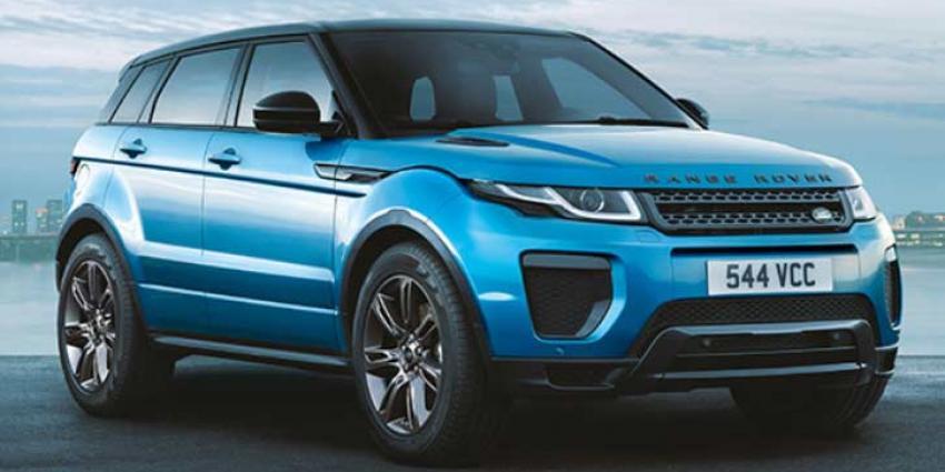 Rover Evoque Landmark komt met speciale Landmark-uitvoering
