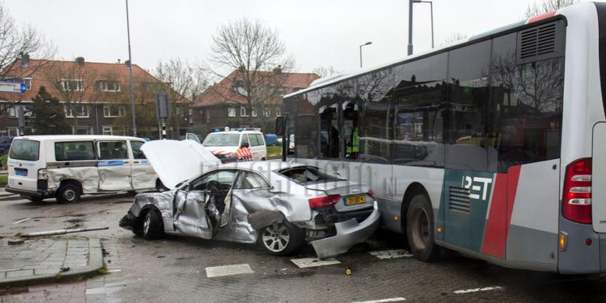 Man veroorzaakt ravage na meerdere ongevallen met vele gewonden