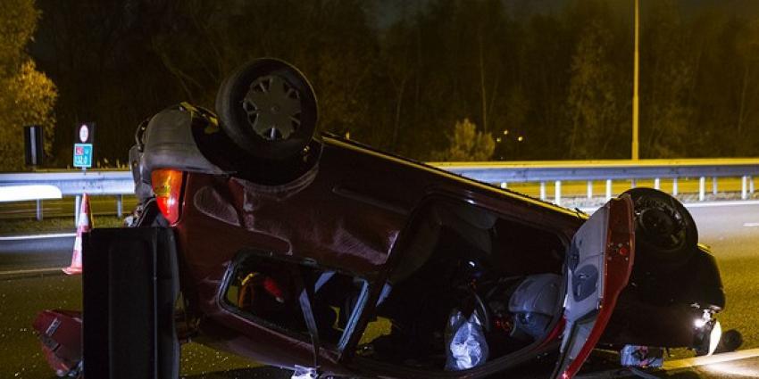 Enorme ravage na ongeval met meerdere voertuigen op A2 bij Liempde