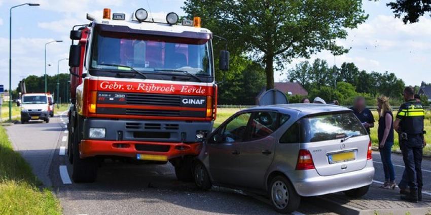 Ravage na ongeval met vrachtauto op N622 bij Schijndel