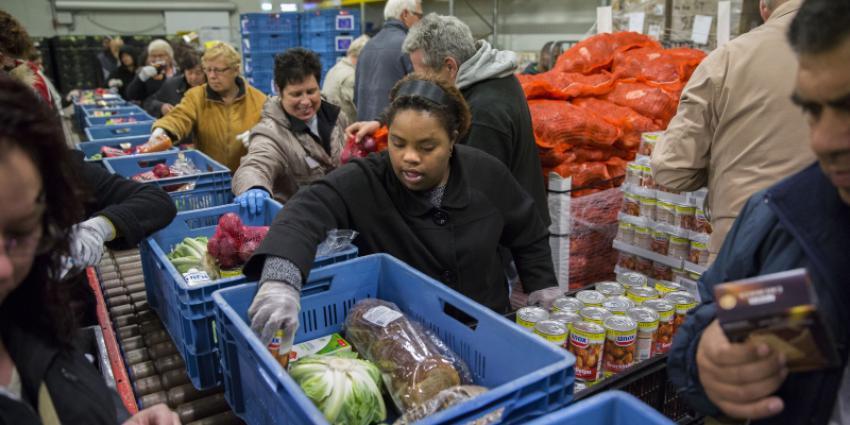 Voedselbank mist mensen die honger hebben