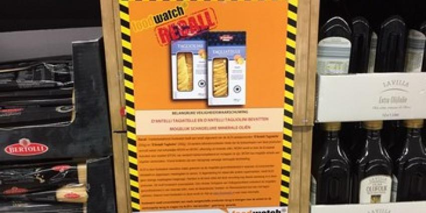 Recall pasta's ALDI door foodwatch