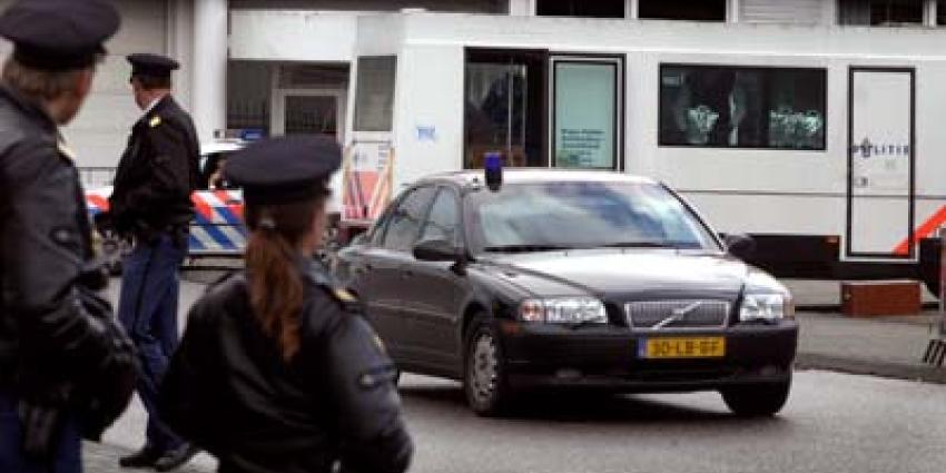 Foto van transport Samir A. rechtbank | Archief EHF