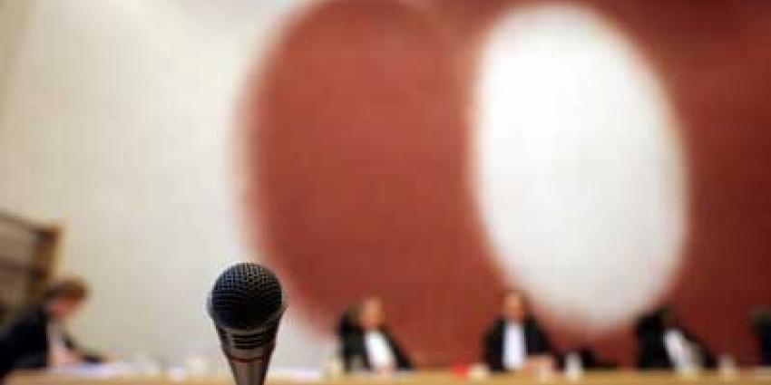 Foto van rechtbank officier rechter | Archief EHF
