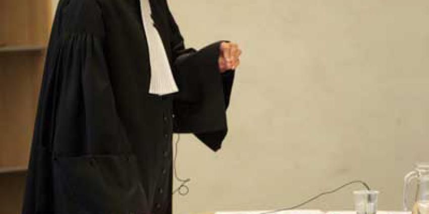 Foto van officier in rechtbank | Archief EHF
