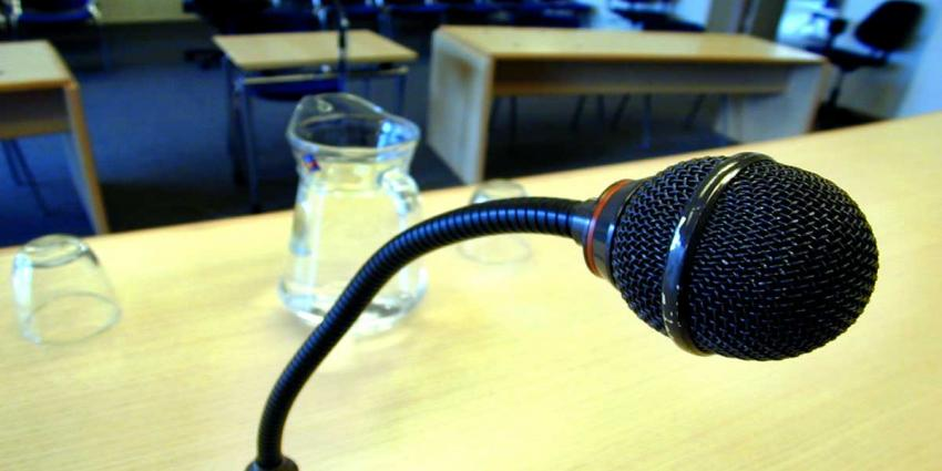 Rechtbank-microfoon